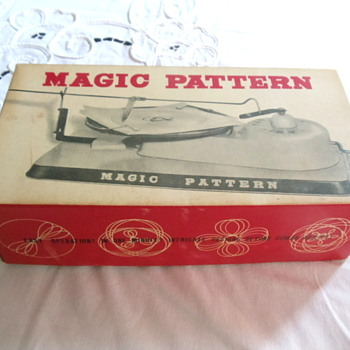 Magic Pattern Rare Made in Japan Spirograph Toy - Toys