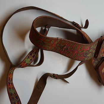 Native American Belt/Suspenders? - Native American