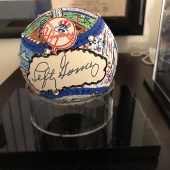 Lefty Gomez Fazzino Baseball - Baseball