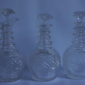 Decanter Set - Art Glass