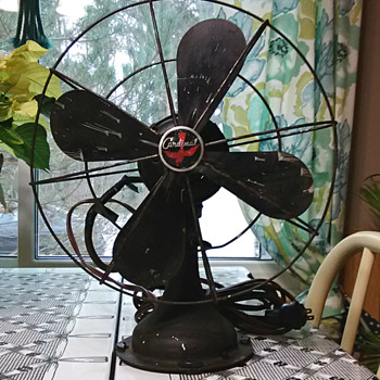 'Cardinal' Oscillating Fan, Maker Unknown? - Tools and Hardware