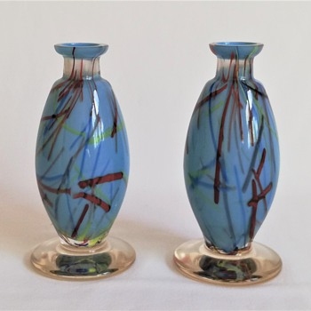 Peloton Perfume Bottles - Art Glass