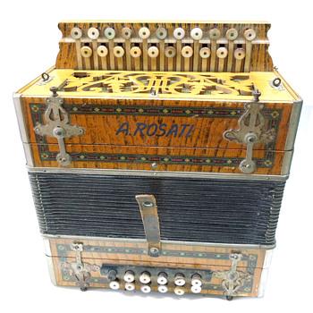 A. Rosati Accordian - Music Memorabilia