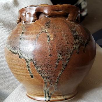Studio pottery vase - Pottery