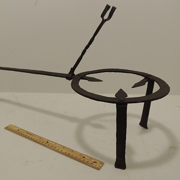 Forged Iron Trivet - American c. 1700-1760 - Kitchen