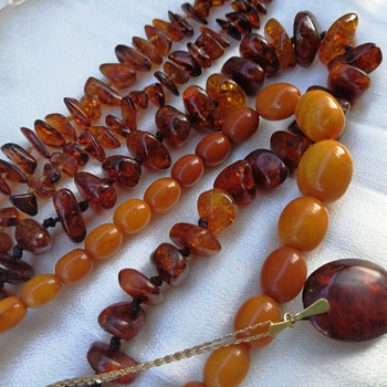 Amber necklaces  - Fine Jewelry