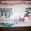 Mountain dew advetising