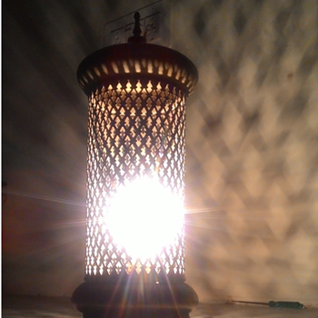 Brass Electric Lamp - Lamps