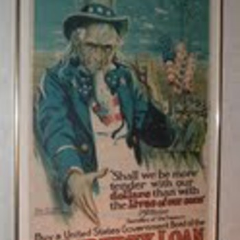 Uncle Sam Liberty Loan???? - Posters and Prints