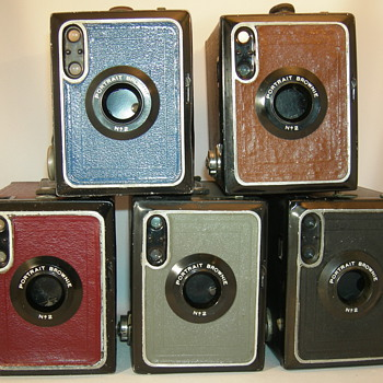 kodak Portarit Brownie model F nr2