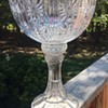 "Large 14"" Crystal Compote by Shannon?"