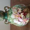 Green Flowered Vase-European