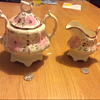 Milk jug and ? Sugar bowl??