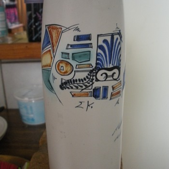 My second vase from this pottery - Pottery