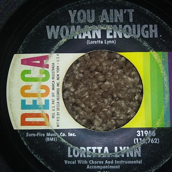 Loretta Lynn...On 45 RPM Vinyl - Records