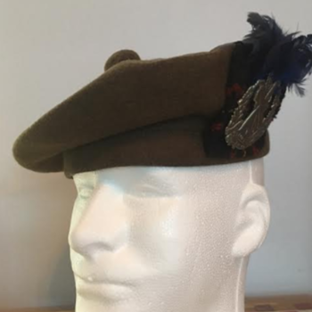 WWII Queen's Own Cameron Highlanders of Canada Tam O'Shanter  - Military and Wartime