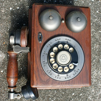 Old Western Electric Phone - Telephones