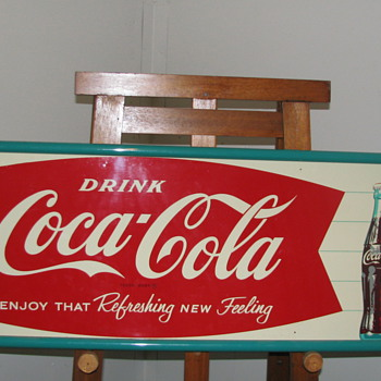 Vintage Coca-Cola Tin Sign