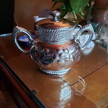 Found unknown Silver City Quadruple plated - Silver