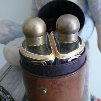 art nouveau perfume bottles nessecaire - Art Glass