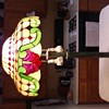 Vintage Brass Lamp And Shade