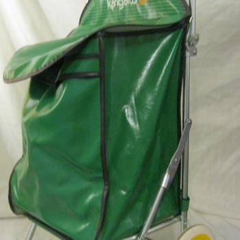 Vintage Rolling Green Kanagroo Bag - Bags