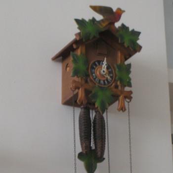 Antique 1950's German Forestall cuckoo clock. - Clocks