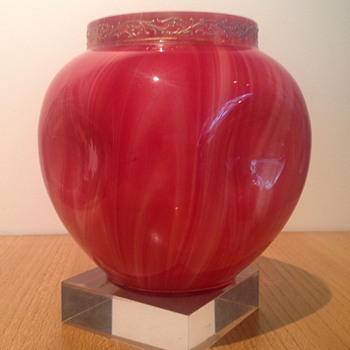 LOETZ MARMORIERTE 'KARNEOL' c.1889 - Art Glass