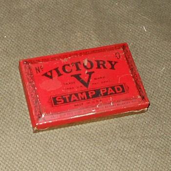 Vintage V for Victory Stamp Pad