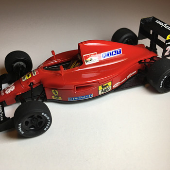 Rosso Corporation Ferrari 642 1/43 - Model Cars