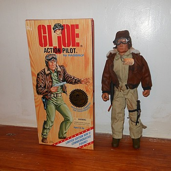 1990s GI Joe Action Pilot WWII version - Toys