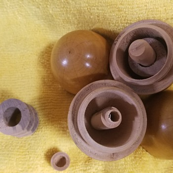 Antique Sewing Kit Eggs - Sewing