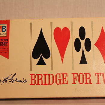 Vintage Bridge For Two (Fine Edition) Card Game ~ 1964 - Games
