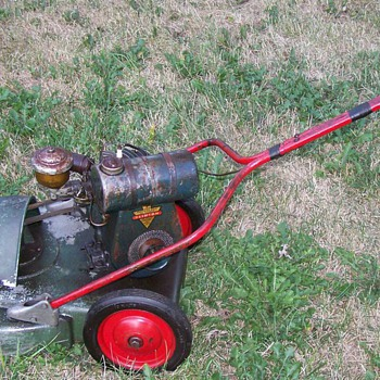 Vintage Artisan Gamble Store Rotary Mower - Tools and Hardware