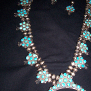 My favorite necklace with matching earrings