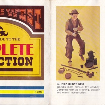 Marx Johnny West Best of the West Pamphlet 1974