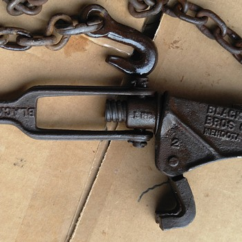 Black Bros. CO Chain Type Clamp