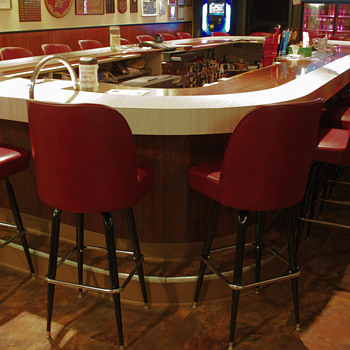St. Conrad's Bar Area…Wilkes-Barre, PA - Breweriana