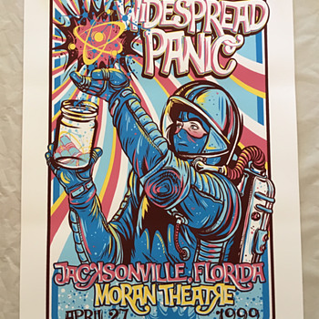 Widespread Panic, 4/27/99, by JT Lucchesi - Fine Art