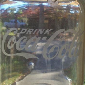 coke cola syrup jug