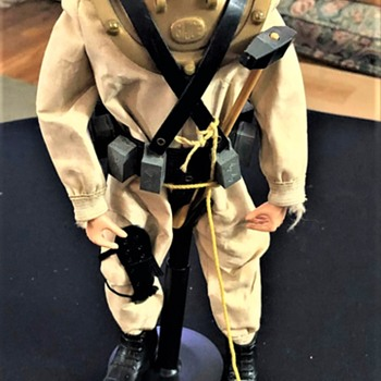 1960s Gi Joe Deep Sea Diver - Toys