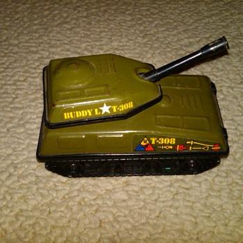 Buddy L T-308 tank  - Model Cars