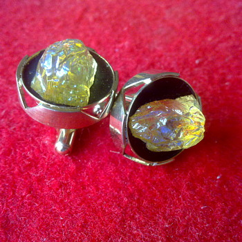 """ASSORTMENT OF CUFFLINKS FROM THE 70""""S"""