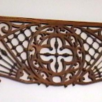 1890's Victorian Gingerbread Interior Fretwork - Victorian Era