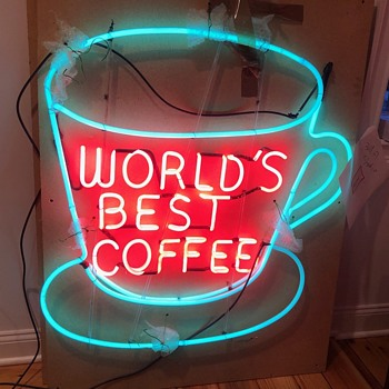 World's Best Coffee - Signs
