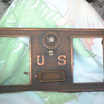 Post Office Mail Box Door