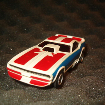 AFX CUDA FUNNYCAR H.O. SCALE - Model Cars