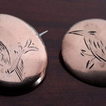 Gold lined Victorian kookaburras - Fine Jewelry