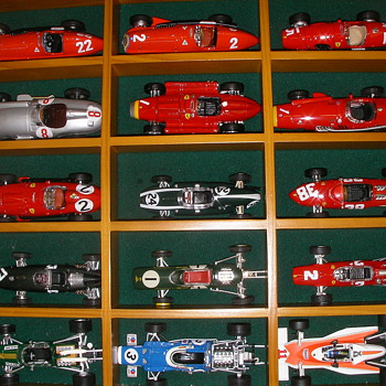 Historic Formula 1 Model Cars Collection - Model Cars