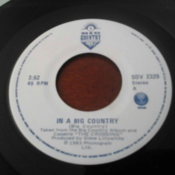 "In A Big Country ""Big Country "" - Records"